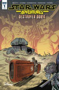 Star Wars Adventures: Destroyer Down #1 (Jon Sommariva Variant Cover) (07.11.2018)