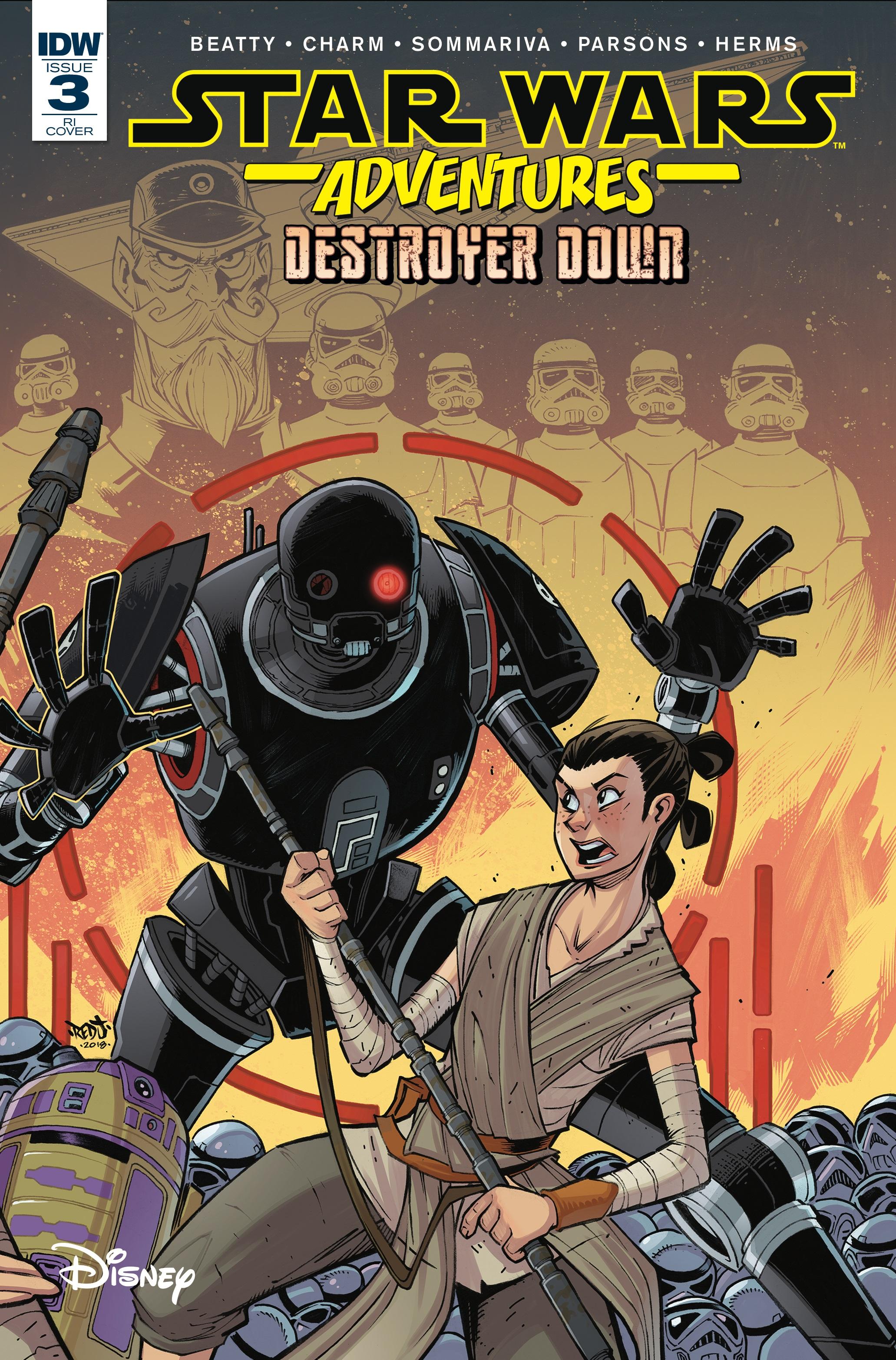 Star Wars Adventures: Destroyer Down #3 (Jon Sommariva Variant Cover) (09.01.2019)