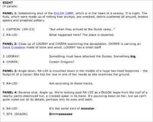 Tales from Vader's Castle #4 Skript