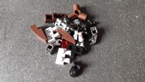 LEGO Star Wars Magazin #40 - Droideka - Bauteile