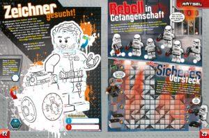 LEGO Star Wars Magazin #40 - Vorschau Seiten 22 und 23