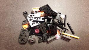LEGO Star Wars Magazin #41 - Poe Dameron's X-Wing - Bauteile