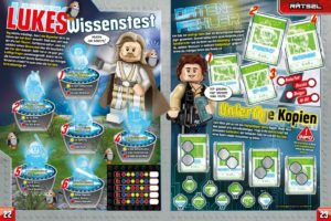 LEGO Star Wars Magazin #41 - Vorschau Seiten 22 und 23