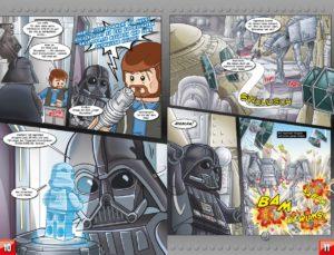 LEGO Star Wars Sammelband #11 - Vader geht zu weit! - Vorschauseiten 10 und 11