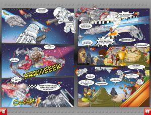 LEGO Star Wars Sammelband #11 - Vader geht zu weit! - Vorschauseiten 18 und 19
