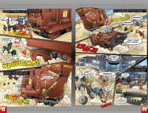 LEGO Star Wars Sammelband #11 - Vader geht zu weit! - Vorschauseiten 38 und 39