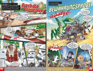 LEGO Star Wars Sammelband #12 - Luke Skywalker auf Rettungsmission - Vorschauseiten 4 und 25