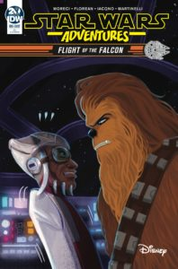 Star Wars Adventures: Flight of the Falcon (Valentina Pinto Variant Cover) (Januar 2019)