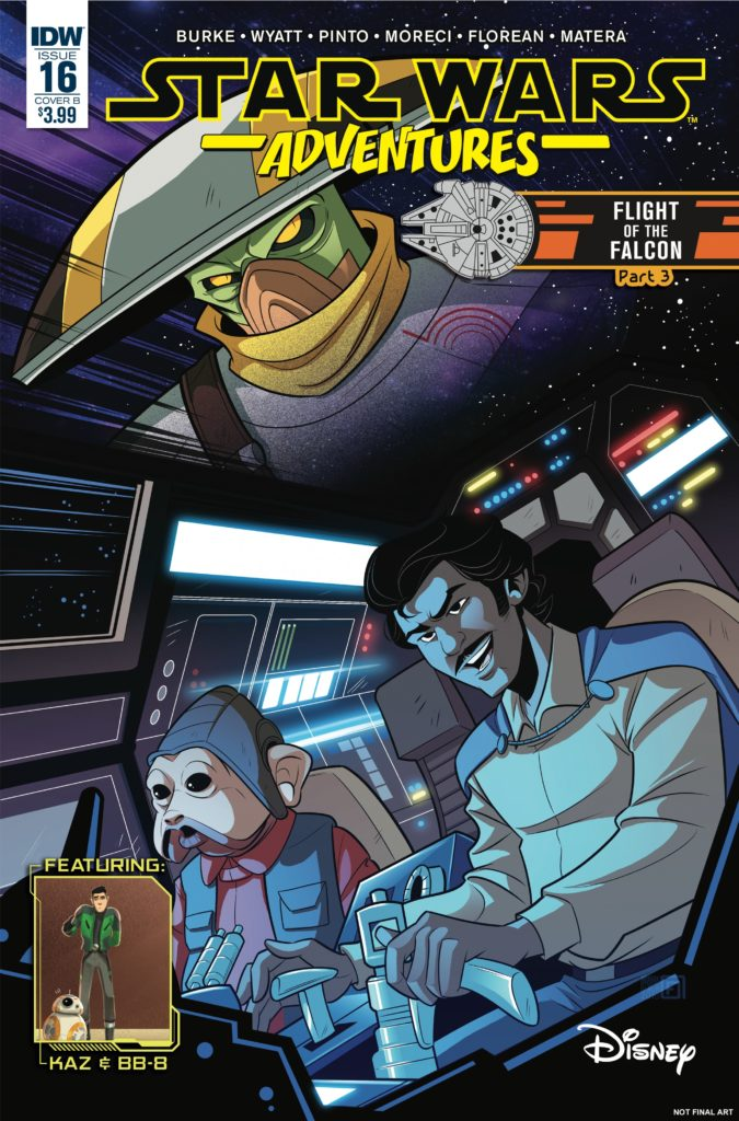 Star Wars Adventures #16 (Cover B by Arianna Florean) (19.12.2018)