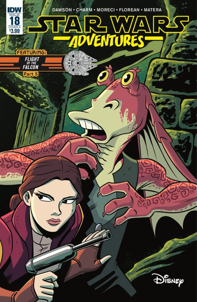 Star Wars Adventures #18 (Cover A by Derek Charm) (06.02.2019)