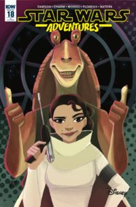 Star Wars Adventures #18 (Valentina Pinto Variant Cover) (20.02.2019)
