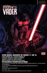 Shadow of Vader #1 (PREVIEWS-Katalog)