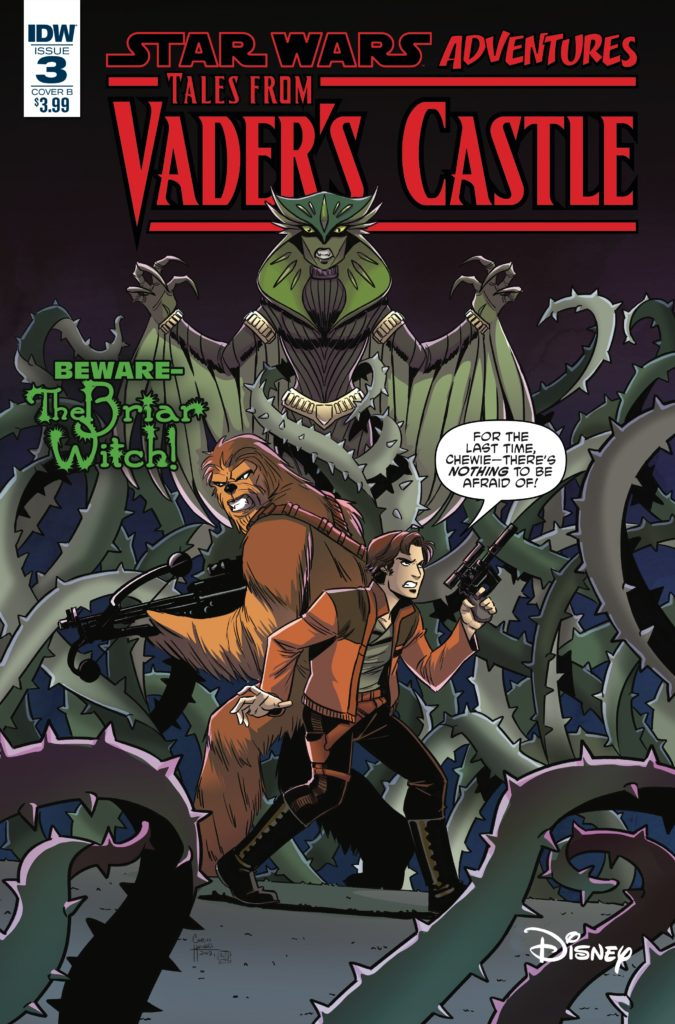 Star Wars Adventures: Tales from Vader's Castle #3 (Cover B by Corin Howell) (17.10.2018)