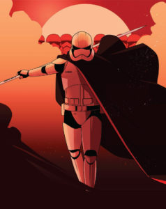 Women of the Galaxy Captain Phasma von Little Corvus