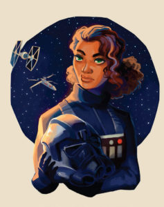 Women of the Galaxy Ciena Ree von Geneva Bowers