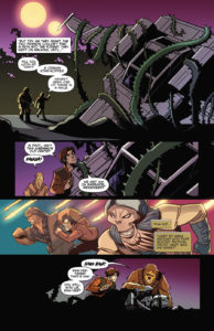 Tales from Vader's Castle #3 Fertige Seite