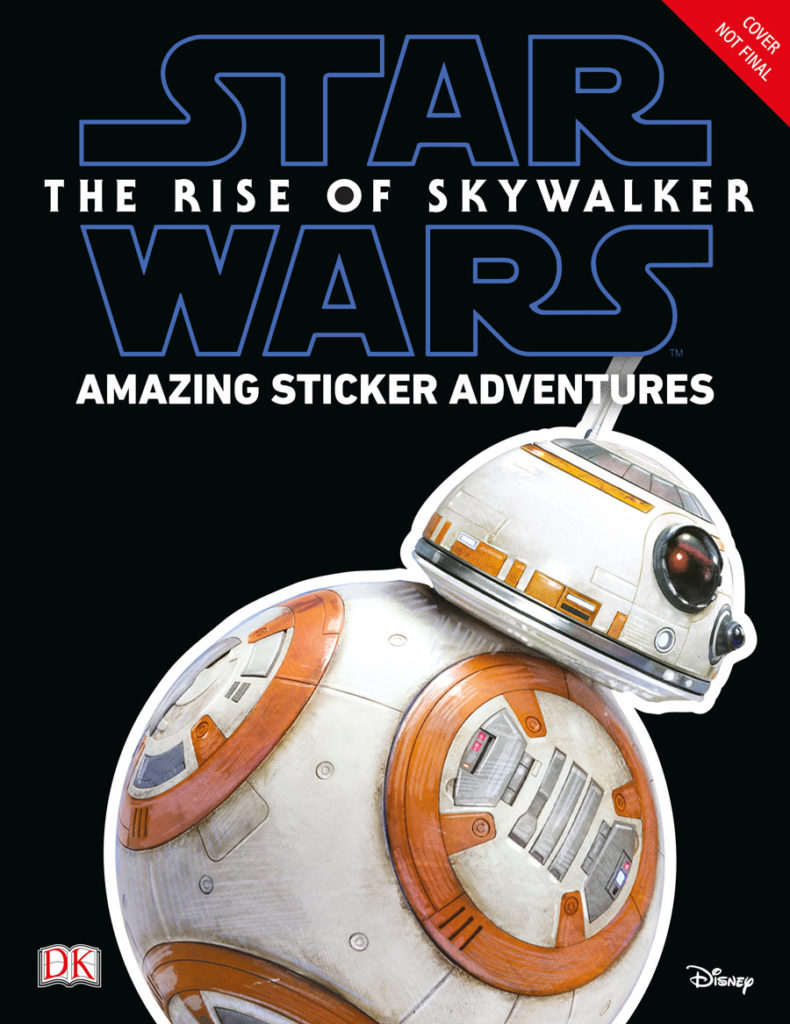 Star Wars: The Rise of Skywalker: Amazing Sticker Adventure (04.10.2019)
