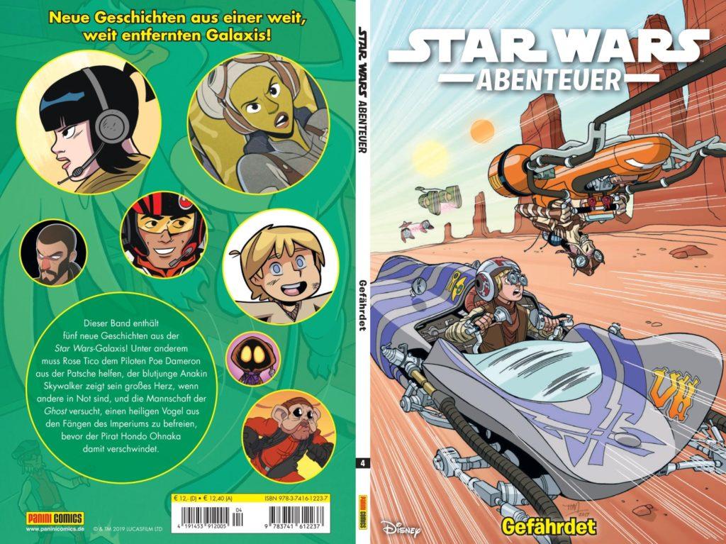 Star Wars Abenteuer, Band 4: Gefährdet (28.05.2019)