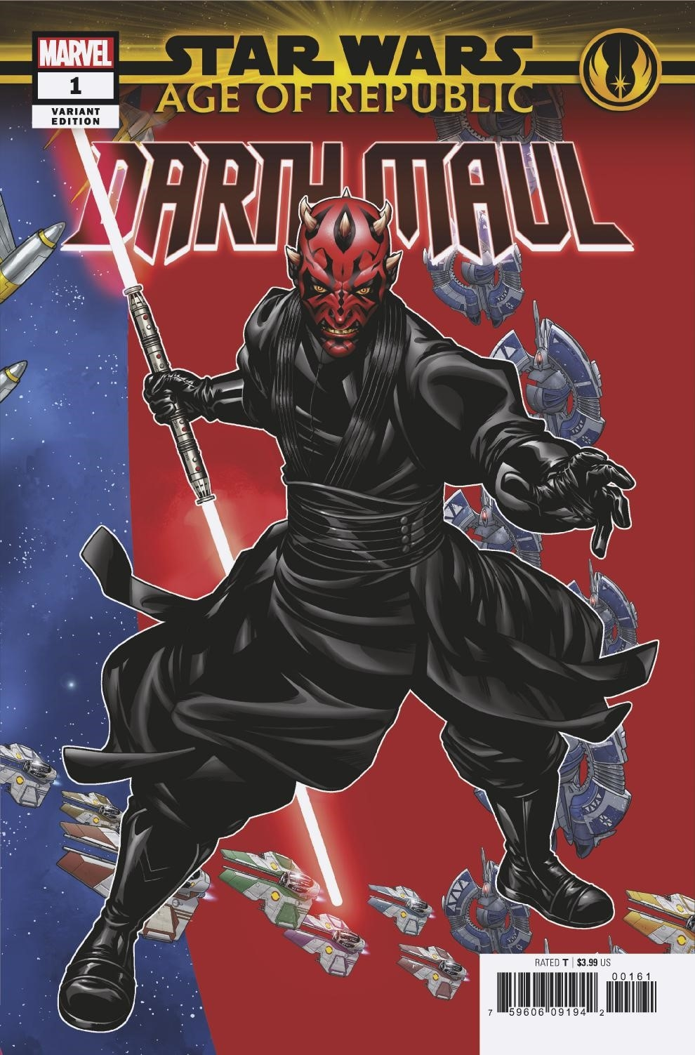Age of Republic: Darth Maul #1 (Mike McKone Puzzle Piece Variant Cover 2 of 27) (12.12.2018)