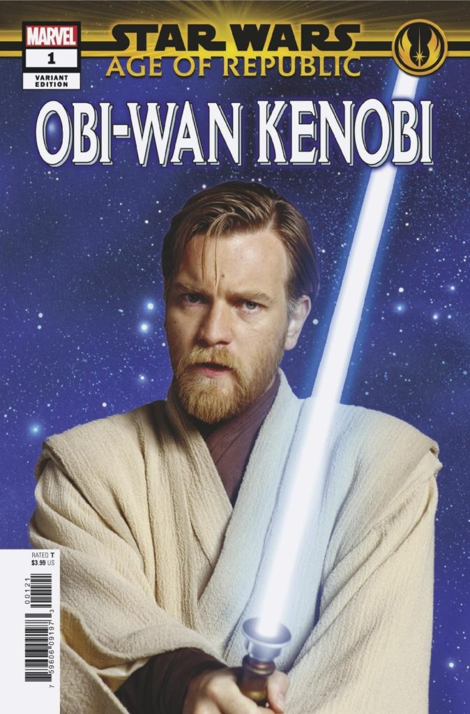 Age of Republic: Obi-Wan Kenobi #1 (Movie Variant Cover) (02.01.2019)