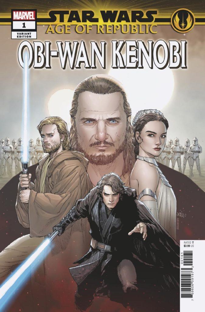 Age of Republic: Obi-Wan Kenobi #1 (Leinil Francis Yu Heroes Variant Cover) (02.01.2019)