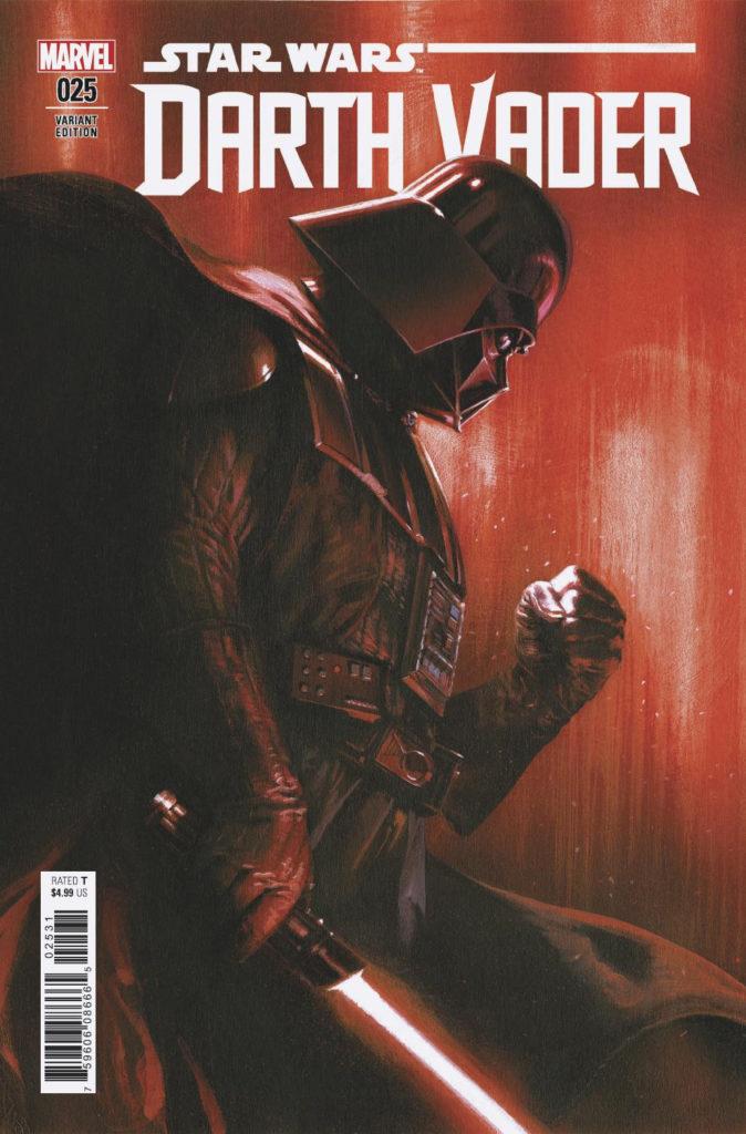 Darth Vader #25 (Gabriele Dell'Otto Variant Cover) (19.12.2018)