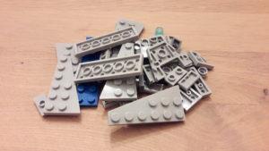 LEGO Star Wars Magazin #42 - Star Destroyer - Bauteile