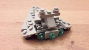 LEGO Star Wars Magazin #42 - Star Destroyer - Set Rückansicht