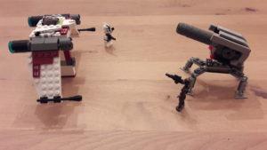 LEGO Star Wars Buch & Steine-Set: Galaktische Verfolgungsjagd - Set 1