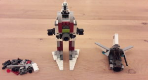 LEGO Star Wars Buch & Steine-Set: Galaktische Verfolgungsjagd - Set 2