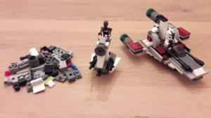 LEGO Star Wars Buch & Steine-Set: Galaktische Verfolgungsjagd - Set 3