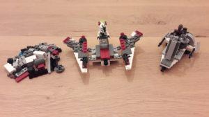 LEGO Star Wars Buch & Steine-Set: Galaktische Verfolgungsjagd - Set 4