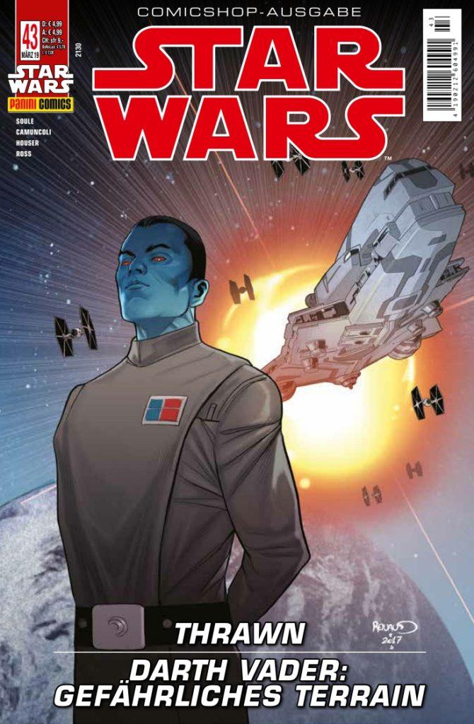 Star Wars #43 (Comicshop-Ausgabe) (20.02.2019)