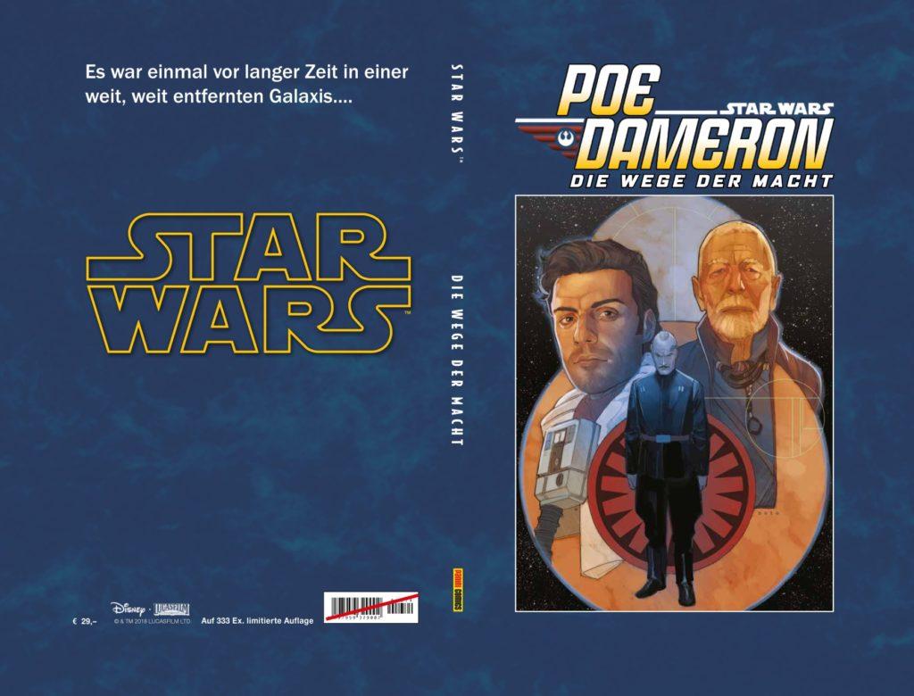 Poe Dameron, Band 4: Die Wege der Macht (Limitiertes Hardcover) (22.01.2019)