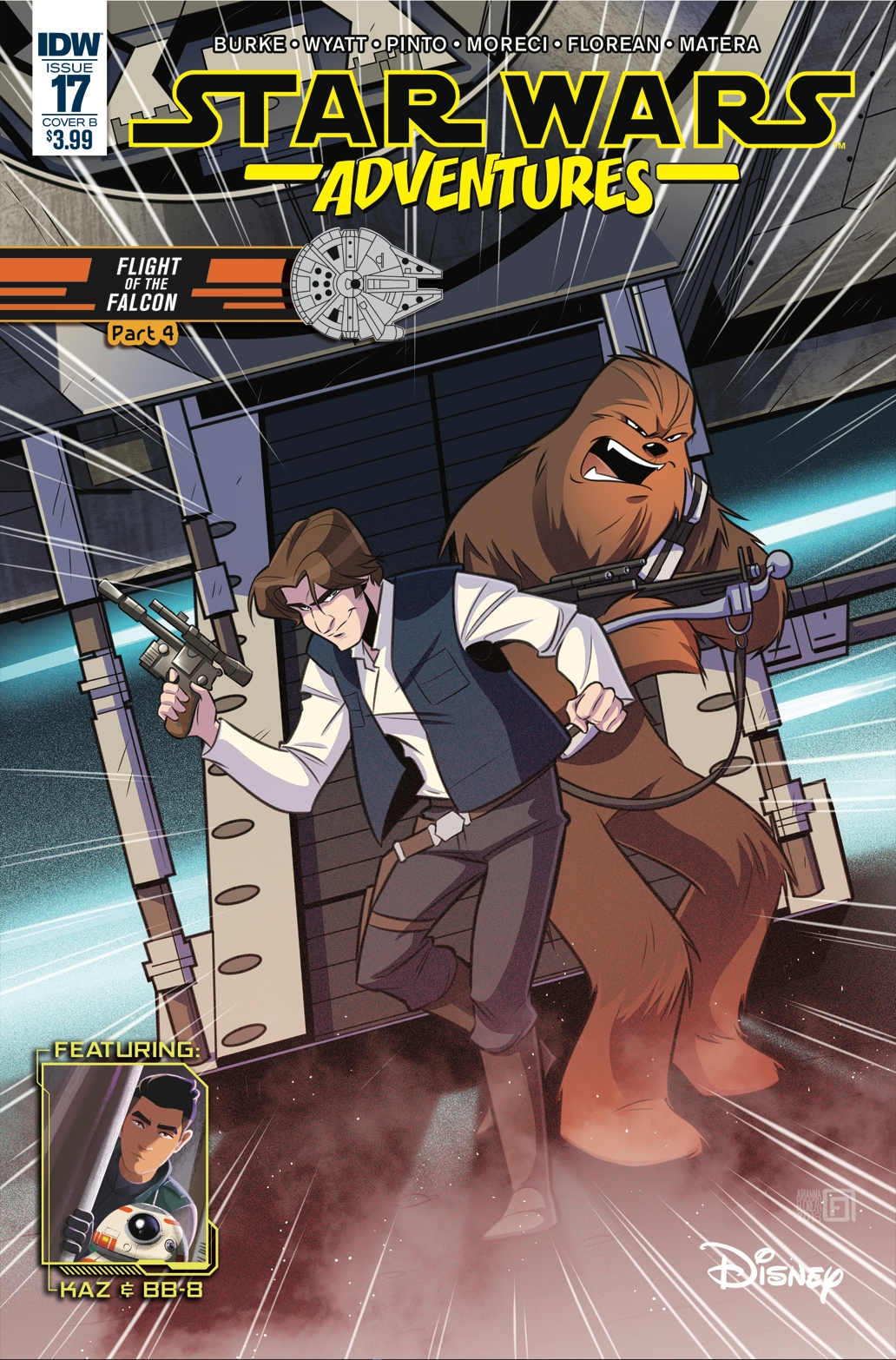Star Wars Adventures #17 (Cover B by Arianna Florean) (30.01.2019)