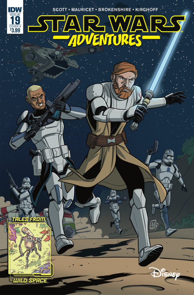 Star Wars Adventures #19 (Cover A by Alain Mauricet) (13.02.2019)