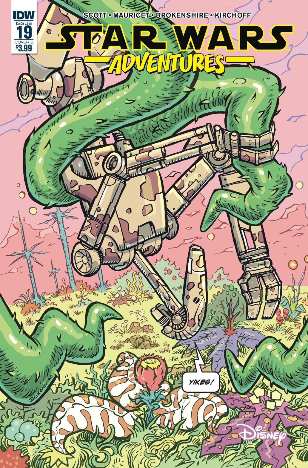 Star Wars Adventures #19 (Cover B by Nickolas Brokenshire) (27.03.2019)