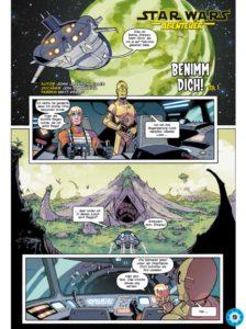 Star Wars Abenteuer: Benimm dich, Teil 1