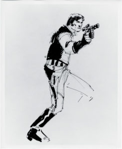 Zeichnung von Howard Chaykin für den klassischenStar Wars Marvel-Comic