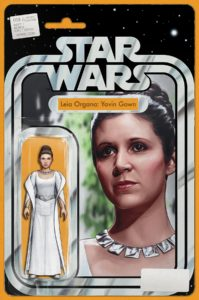 "Star Wars #58 (JTC ""Leia Organa: Yavin Gown"" Action Figure Variant Cover) (05.12.2018)"