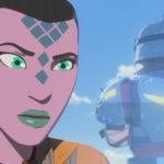 Synara verrät ihrem Boss Kragan Gorr, dass Colossus schutzlos ist.