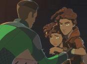 """In """"Die Kinder von Tehar"""" hilft Kaz zwei Kindern, die auf der Flucht vor der Ersten Ordnung sind."""