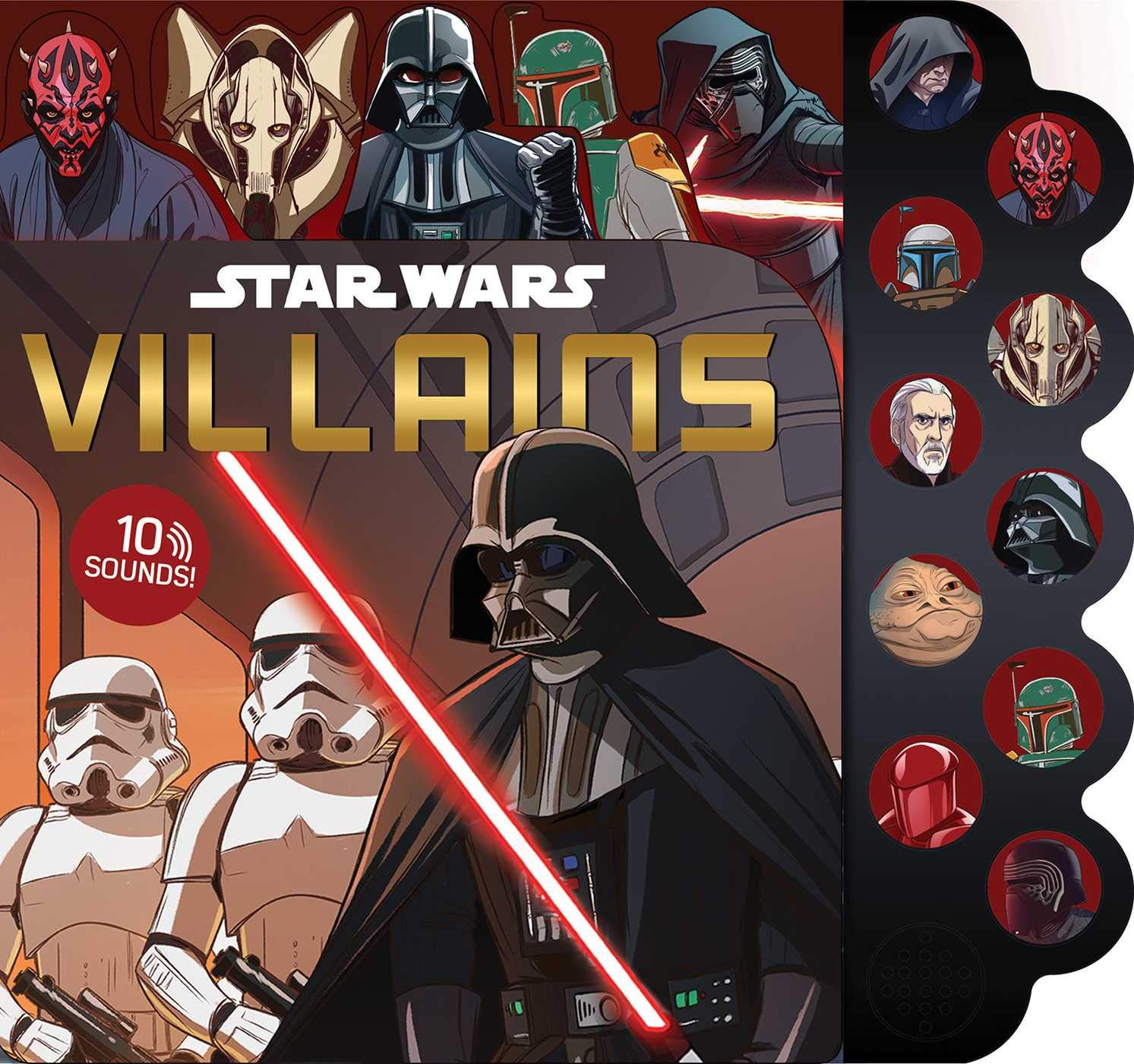 Star Wars: Villains - 10-Button Sound Book (01.10.2019)
