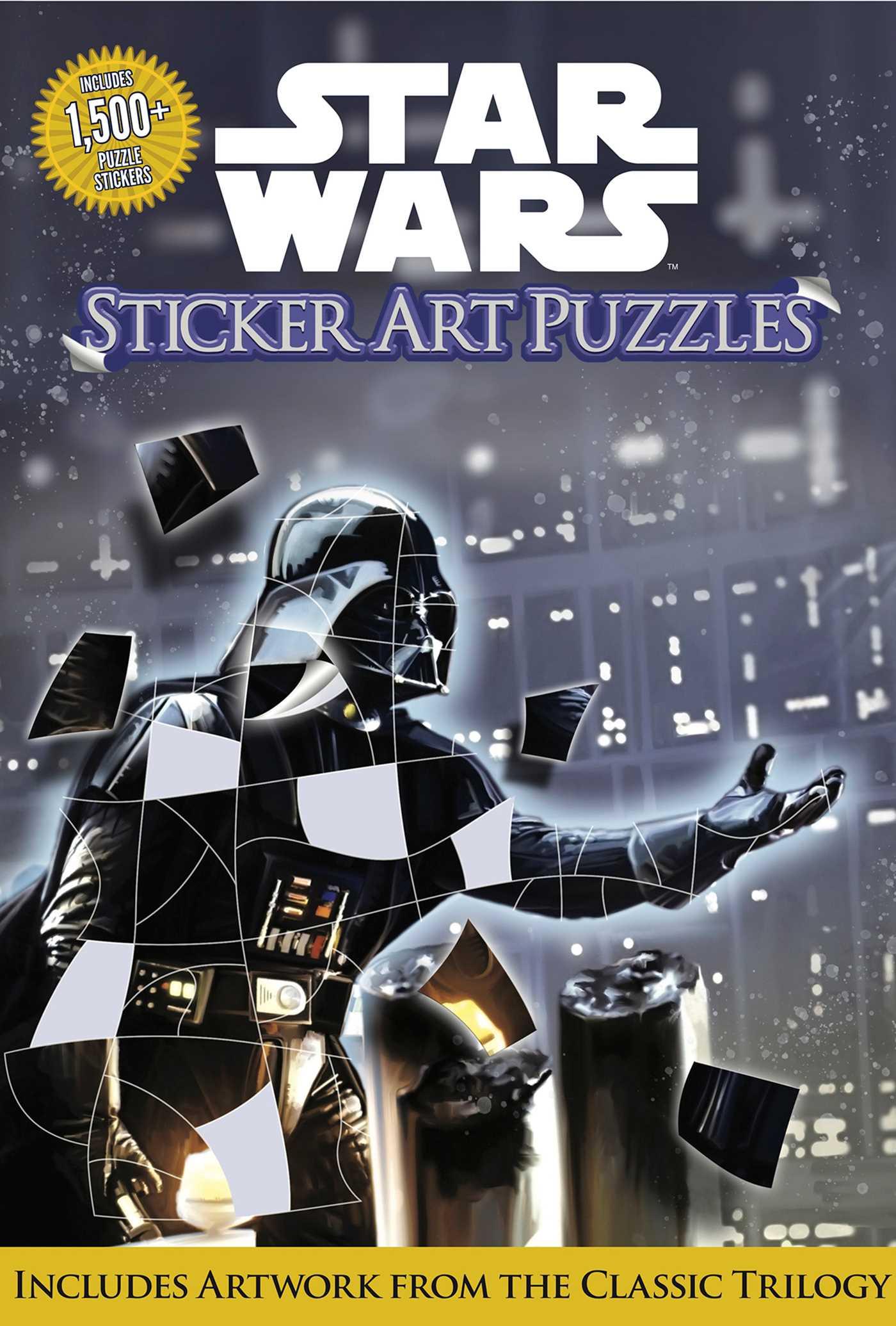 Star Wars Sticker Art Puzzles (04.10.2019)