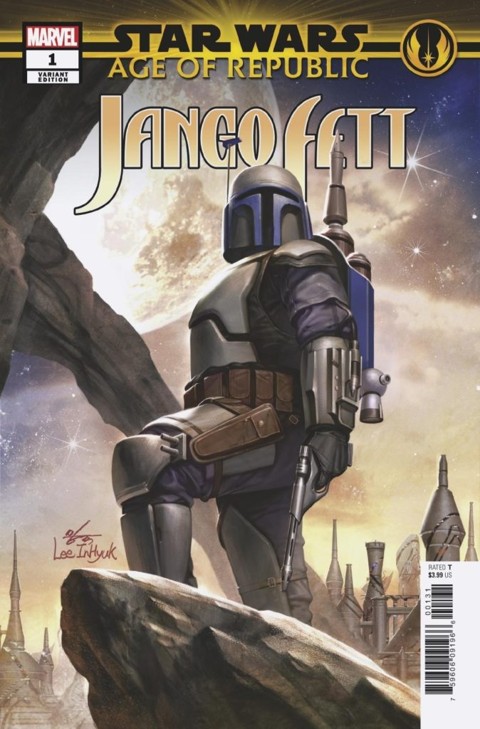 Age of Republic: Jango Fett #1 (In-Hyuk Lee Variant Cover) (09.01.2019)