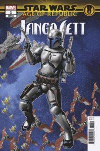 Age of Republic: Jango Fett #1 (Mike McKone Puzzle Piece Variant Cover 4 of 27) (09.01.2019)
