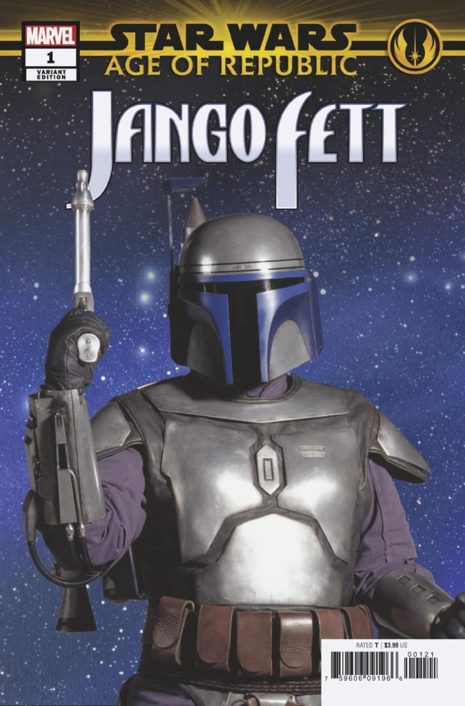 Age of Republic: Jango Fett #1 (Movie Variant Cover) (09.01.2019)
