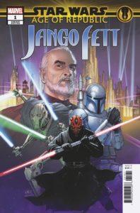 "Age of Republic: Jango Fett #1 (Leinil Francis Yu ""Villains"" Variant Cover) (09.01.2019)"