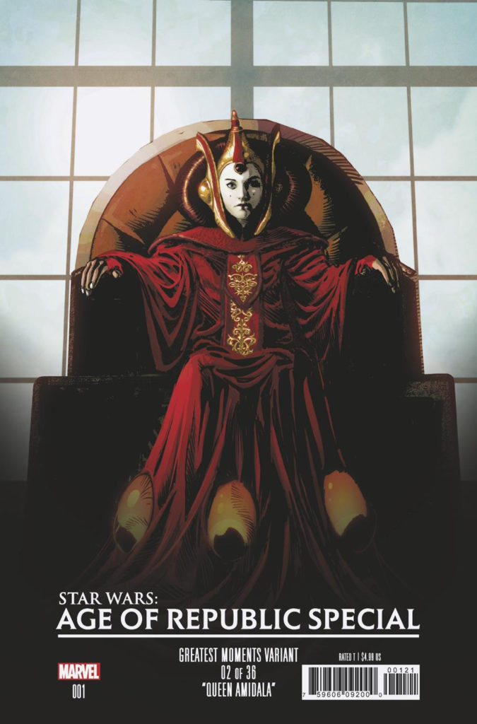Age of Republic Special #1 (Mike Deodato Greatest Moments Variant Cover 2 of 36) (16.01.2019)