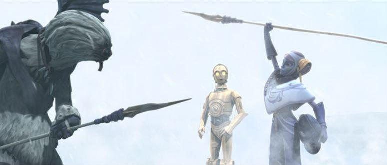 Der Friedenssschluss zwischen den Talz und den Pantoranern (Quelle: Jedipedia.net)